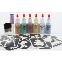 TAG Glitter Tattoo Kit - Christmas Themed