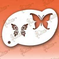 Diva - Two step Butterfly  Stencil