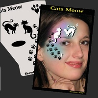 Show Offs Profile Stencil CATS MEOW