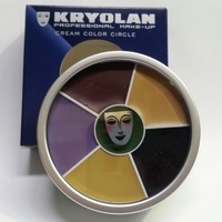 Kryolan 6 Colour Bruise Wheel