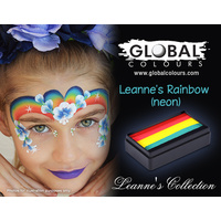 Global Funstroke (LC) Leanne's Rainbow (Neon) NEW