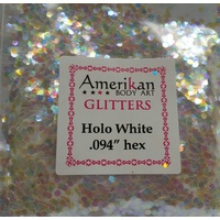 Chunky Glitter - White Holographic 1oz Bag