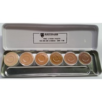 Kryolan RMG 6 Colour Flesh Tone Palette