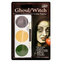 Mehron Tri-Colour Palette [Witch/Ghoul]