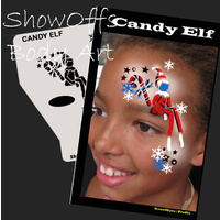 Show Offs Profile Stencil Candy Elf
