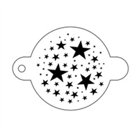TAP 061 Magical Stars face painting stencil