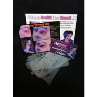 Ultimate Graffiti Eyes Stencil Pack - Lea Selley