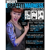 Wiser's Graffiti Madness Stencil Kit
