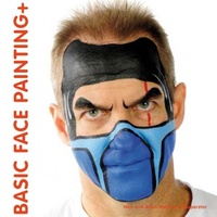 Wolfe Brothers Basic Face Painting Book +