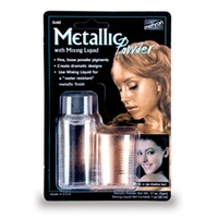 GOLD metallic powder(5g) with mixing liquid (30ml)
