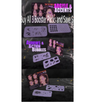 Graffiti Eyes Booster pack Bundle