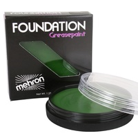 Mehron Foundation Greasepaint GREEN
