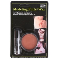 Mehron Modelling Putty/Wax with Fixative A (Carded)