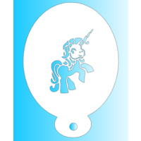MiniM Cute Unicorn Stencil