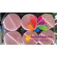 TAG Sponges 12 x Half Rounds Pink