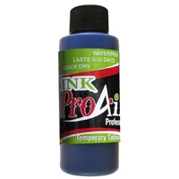 ProAiir Temporary Tattoo INK Blue 2oz