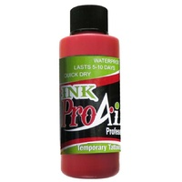 ProAiir Temporary Tattoo INK Lipstick Red 2oz