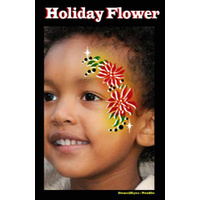 Show Offs Profile Stencil Holiday Flower