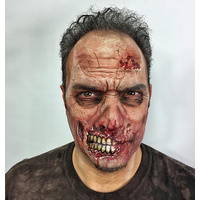 Prosthetic Mould - Zombie Cheeks by Stuart Bray
