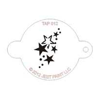 TAP012 Stars Face Painting Stencil