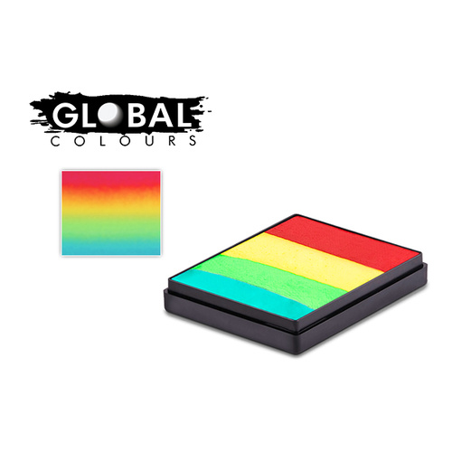 Global 50g Rainbow Cake VEGAS