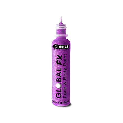 Global Fx Glitter Gel  36ml Purple