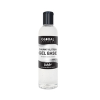 Global Chunky Glitter Gel Base 250ml