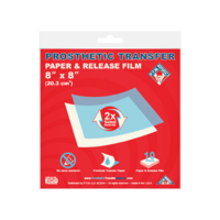 "Prosthetic Transfer Paper & Release Film (4"" x 6"") 10 pack"