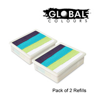 GLOBAL Funstroke Refill 2 x 10g Pack TAUPO