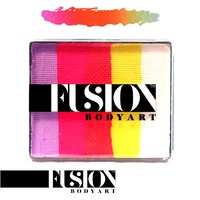 CARIBBEAN SUNSET - Fusion Body Art 50g Rainbow Cake
