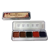 Dashbo Bloody Hell Palette 5 colour (alcohol activated)