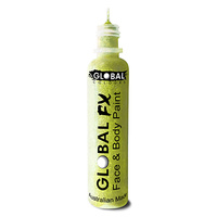 Global Fx Glitter Gel 36ml Iridescent Yellow