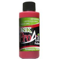 ProAiir Temporary Tattoo INK Hot Pink 2oz