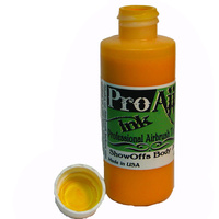 ProAiir Temporary Tattoo INK Yolk Yellow 2oz