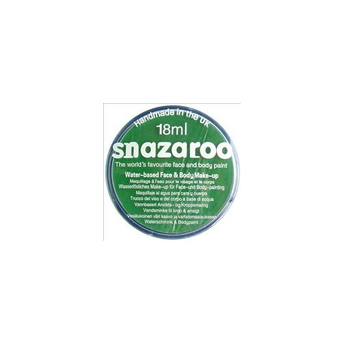 Snazaroo Classic Bright Green 18ml (40g)
