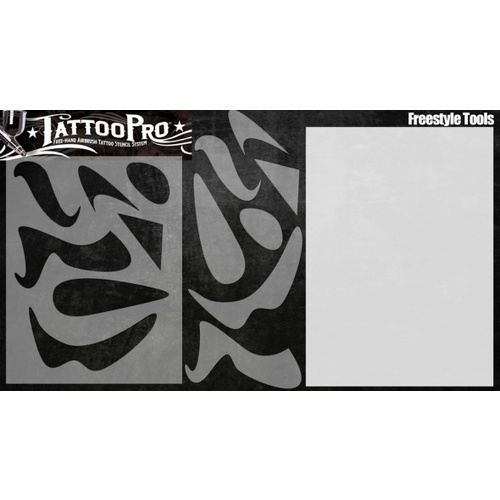 WISER's Tattoo Pro STENCIL- FREESTYLE TOOLS